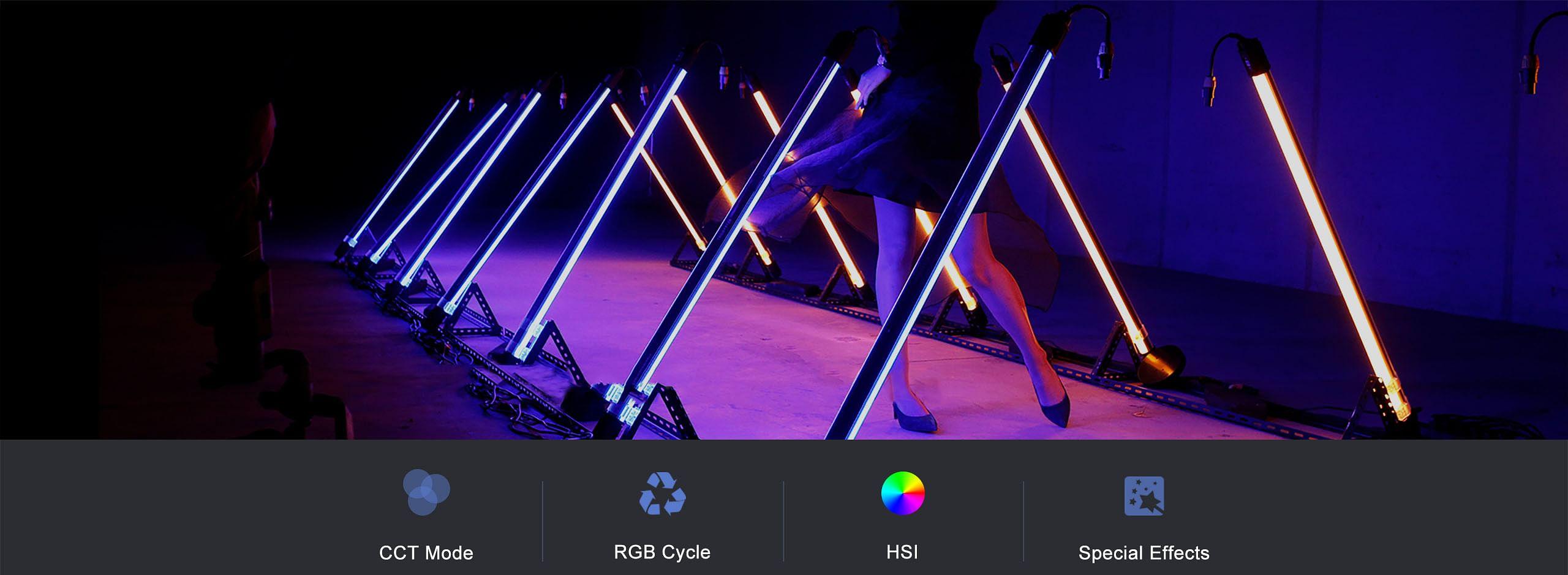 NANLITE PavoTube 30C RGBWW trubicové LED svetlo